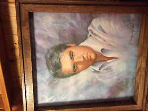Elvis. Presley limited edition  100% oil painting on canvas 1979