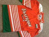 Ice hockey jersey Bulgaria national hockey team