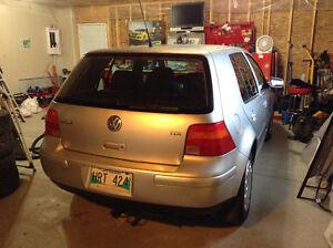 2006 Volkswagen Golf GLS Hatchback 5spd manual