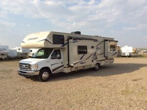 2019 24', 26' & 33 '  Conquest Class C Motorhomes with Slide(s)
