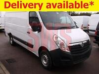 2014 Vauxhall Movano 2.3CDTI SRW L3H2 R3500 DAMAGED REPAIRABLE SALVAGE