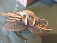 Fascinator mother of bride hat Jacques vert