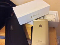 Like New in Box Gold iPhone 6 64gb