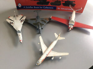 Old vintage dinky aircraft