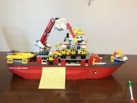 Lego City Fire Boat 7207