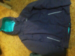 North face size medium purple winter jacket