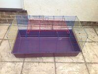 Rabbit or Guinea Pig Indoor Pet Hutch