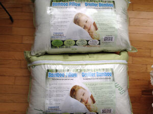 New Bamboo Pillows