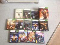 13 Xbox games £25