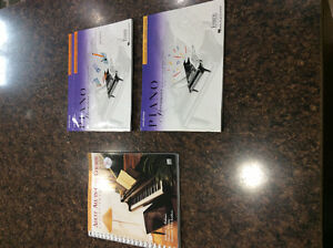 Piano Lesson & Theory books