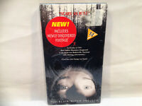 BLAIR WITCH PROJECT ( SEALED ) VHS MOVIE