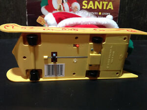 Vintage Santa's Best CLIFFHANGER SANTA CLAUS - NEW IN BOX Cambridge Kitchener Area image 3