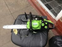 Oregon petrol chainsaw