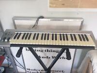 49-key M-Audio USB MIDI keyboard