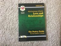 AQA anthology of Poetry: Love and relationships