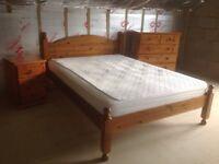 3 Piece Pine Bedroom Furniture