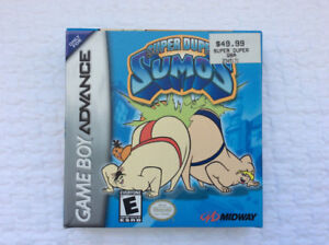 SUPER DUPER SUMOS (Nintendo GBA) - complete / mint (from 2001)