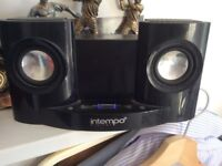 Intempo iPod/iPhone dock/speaker for sale