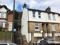 Three bed end terrace house in a choice are of Chatham available for immediate let