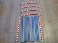 SCALEXTRIC run offs with barriers new