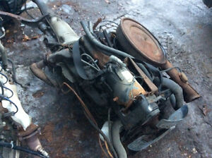 1975 350 Buick motor/trans complete cutout $500