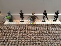 5 Lego Star Wars Minifigures