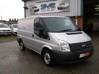2012 FORD TRANSIT SWB WITH 6 SPEED GEAR BOX AND AIR CON IN SILVER CHOICE OF