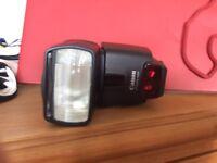 Canon dslr lenses plus flash plus macro attachment