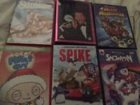6 x Christmas DVDs