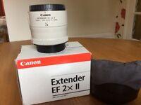 Canon Extender EF 2x mkll