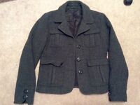American Eagle wool button-up jacket