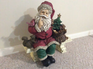 Indoor or outdoor Santa just in time for your holiday decorating