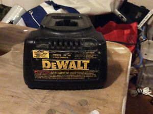 Dewalt cordless battery charger works fine for 7.2-18v batteries
