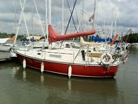 New Price.  C & C 27' Sailboat