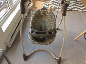 Balançoire de bébé à vendre