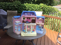 Fisher-Price Doll House including furniture