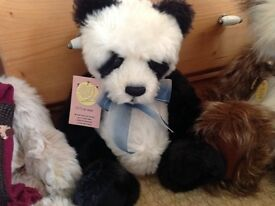 Charlie Bears MING limited edition