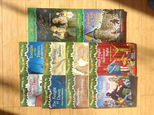 Magic Tree House paperback scholastic 1,2,3,5,17,23,24,25,30,42