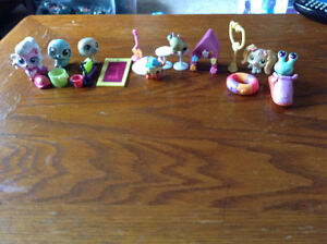Littlest pet shop water animals and extra