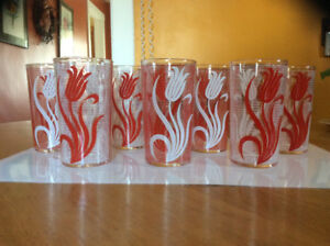 1930-1950 Swanky Swig glasses-REDUCED from $35-$20