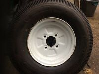 Trailer wheels 10""
