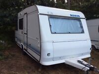 Adria 4 berth with porch awning