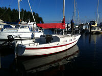 22 ft Tanzer Sailboat