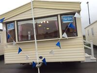 Abi Arizona, 2004, 3 Bedroom Caravan mid West Wales