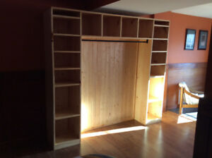 Shelving Unit and Coat Rack