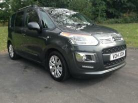 Citroen C3 Picasso 1.6TD ( 90bhp ) 2012.5MY Exclusive Cheap £20 Road Tax