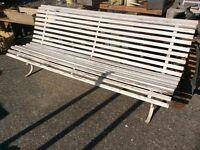 Old French garden bench