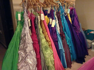 Designer Formal/ Grad Dresses Sizes 0-20 New With Tags