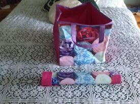 Knitting bag and needle case