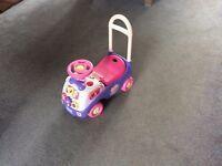 Kiddieland Disney Push and Ride Toy.